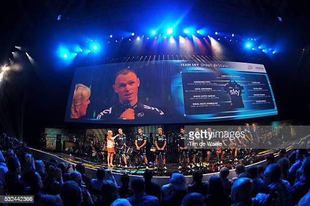 101th Tour de France / Team Presentation FROOME Christopher / EISEL Bernhard / KIRYIENKA Vasil / LOPEZ David / NIEVE Mikel / PATE Danny / PORTE...