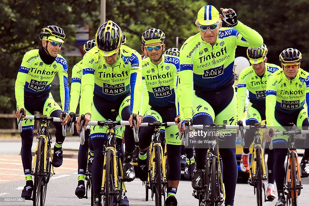 Cycling: 101th Tour de France / Team Tinkoff Training : ニュース写真