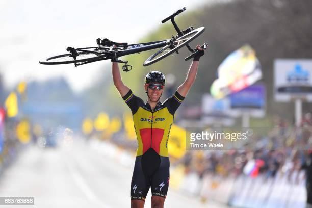 101th Tour of Flanders 2017 / Men Arrival / Philippe GILBERT / Celebration / Antwerpen - Oudenaarde / Ronde van Vlaanderen / RVV /