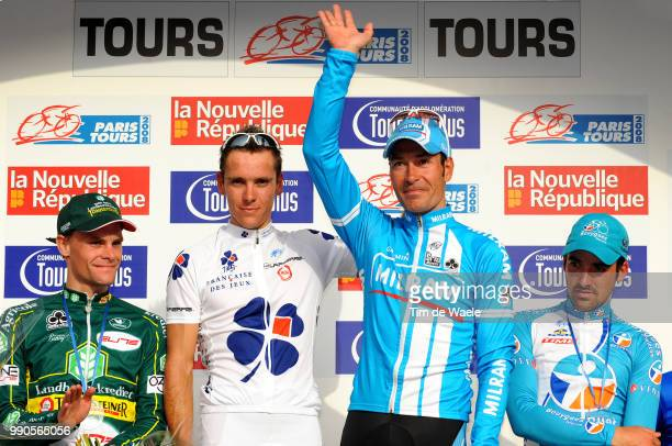 102Nd Paris-Tourspodium, Jan Kuyckx , Philippe Gilbert , Erik Zabel , Sebastien Turgot , Celebration Joie Vreugde /Saint-Arnoult-En-Yvelines - Tours...