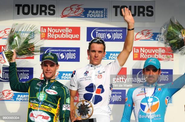 102Nd Paris-Tourspodium, Jan Kuyckx , Philippe Gilbert , Sebastien Turgot , Celebration Joie Vreugde /Saint-Arnoult-En-Yvelines - Tours , Parijs, Tim...