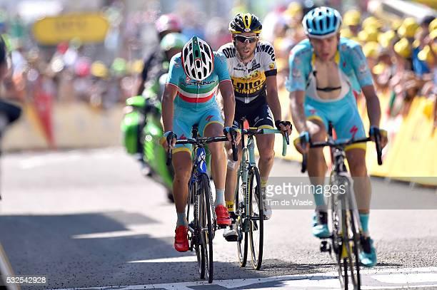 102nd Tour de France / Stage 10 Arrival / NIBALI Vincenzo Disappointment Deception Teleurstelling / KANGERT Tanel / TEN DAM Laurens / Tarbes La...