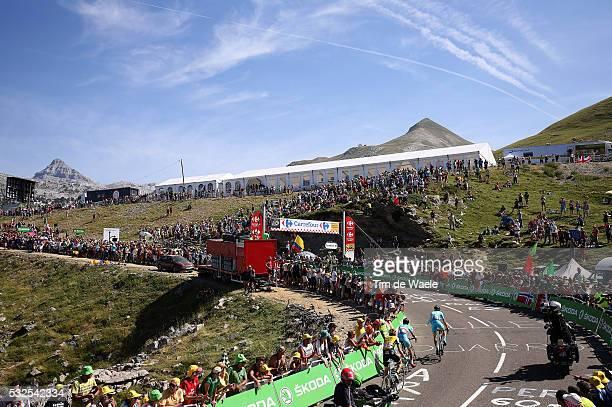 102nd Tour de France / Stage 10 NIBALI Vincenzo / KANGERT Tanel / TEN DAM Laurens / Illustration Illustratie / La PierreSaintMartin Mountains...
