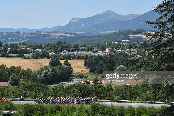 102nd Tour de France / Stage 18 Illustration Illustratie/ Peloton Peleton/ Landscape Paysage/ Mountains/ Gap - St-Jean-de-Maurienne / Ronde van...