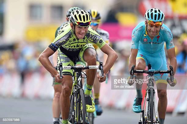 102nd Tour de France / Stage 19 Arrival / KREUZIGER Roman / SCARPONI Michele / Saint-Jean-de-Maurienne - La Toussuire Les Sybelles 1705m / Ronde van...