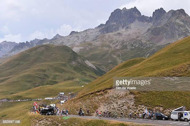 102nd Tour de France / Stage 19 Illustration Illustratie / Peleton Peloton / Col de la Croix de Fer Mountains Montagnes Bergen / Landscape Paysage...