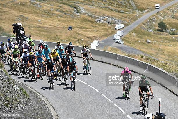 102nd Tour de France / Stage 20 FROOME Christopher Yellow Leader Jersey/ Illustration Illustratie/ Peloton Peleton/ Modane ValfréjusModane Alpe...