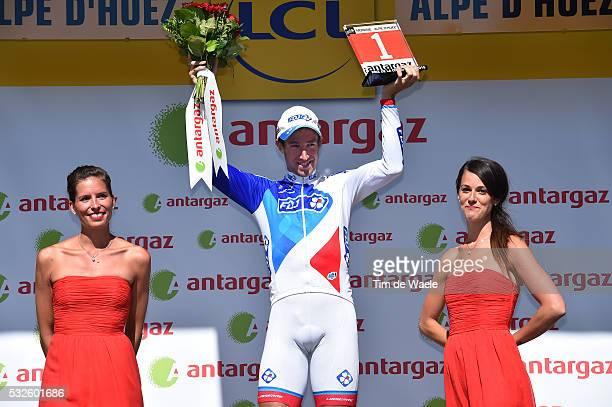 102nd Tour de France / Stage 20 Podium / GENIEZ Alexandre Celebration Joie Vreugde / Modane Valfrejus - Alpe D'Huez 1850m / Ronde van Frankrijk TDF /...