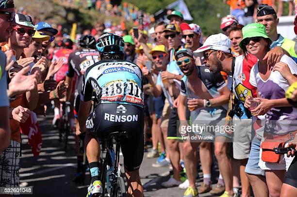 102nd Tour de France / Stage 20 URAN Rigoberto / Illustration Illustratie / Fans Supporters Public Publiek Spectators / Alpe D'Huez 1850m / Modane...