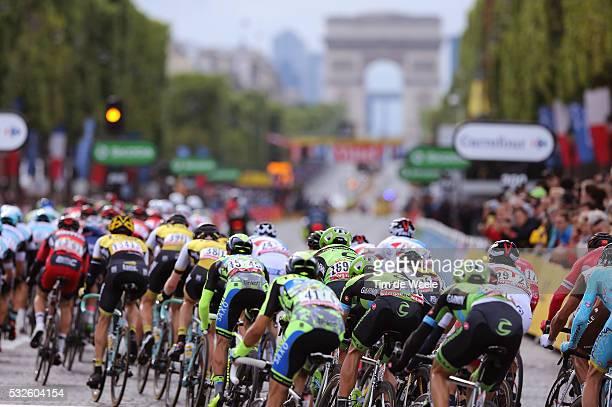 102nd Tour de France / Stage 21 Illustration Illustratie / Peleton Peloton / Champs-Elysees / Landscape Paysage Landschap / Sevres - Paris...