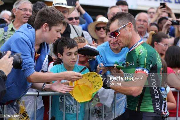 102Nd Tour De France Stage 8 Voeckler Thomas / Public Publiek Spectators Fans Supporters Rennes Mur De Bretagne 293M / Ronde Van Frankrijk Tdf Etape...