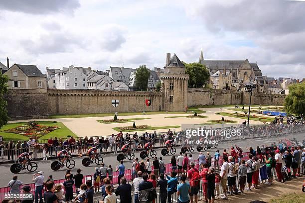 102nd Tour de France / Stage 9 BMC Racing Team VAN GARDEREN Tejay / / VANNES City Castle Walls Landscape Paysage Landschap / Landscape Paysage...