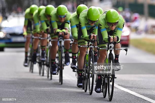 102nd Tour de France / Stage 9 CANNONDALE GARMIN Team / Vannes-Plumelec / Team Time Trial / Contre la Montre Equipes / Ploegentijdrit / TTT / Ronde...