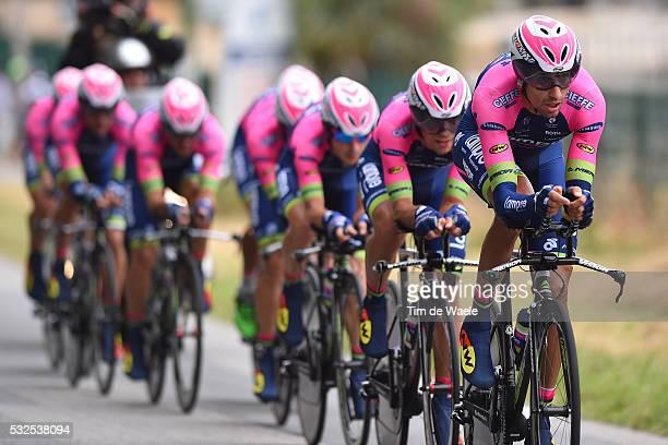 102nd Tour de France / Stage 9 LAMPRE MERIDA Team / Vannes-Plumelec / Team Time Trial / Contre la Montre Equipes / Ploegentijdrit / TTT / Ronde van...