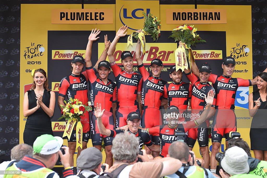 Cycling: 102nd Tour de France / Stage 9 : Foto jornalística