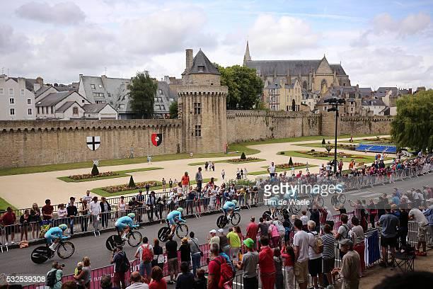 102nd Tour de France / Stage 9 Team Astana NIBALI Vincenzo / VANNES City Castle Walls Landscape Paysage Landschap / Landscape Paysage Landschap /...