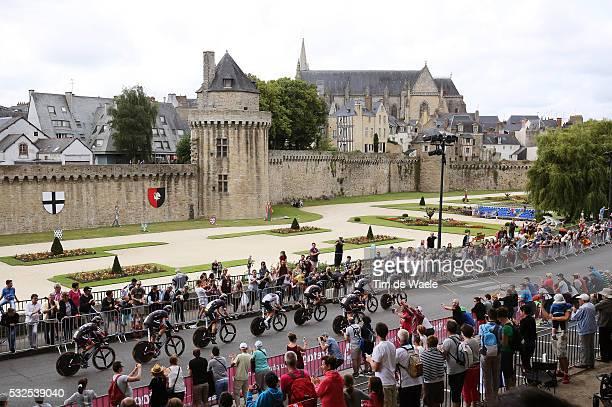 102nd Tour de France / Stage 9 Team Giant Alpecin / VANNES City Castle Walls Landscape Paysage Landschap / Landscape Paysage Landschap / Vannes -...