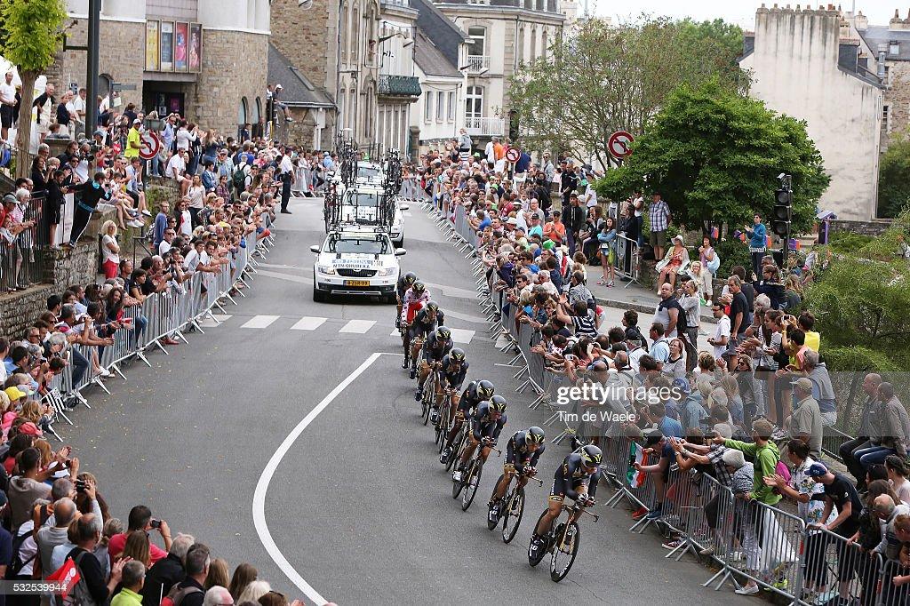 102nd Tour de France / Stage 9 Team MTN Qhubeka / Public