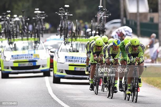 102nd Tour de France / Stage 9 TINKOFF SAXO Team / Vannes-Plumelec / Team Time Trial / Contre la Montre Equipes / Ploegentijdrit / TTT / Ronde van...