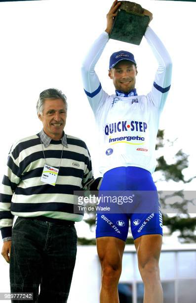 Th Paris- Roubaix Boonen Tom Celebration Joie Vreugde, Podium, Maillot Jersey Trui Pro Tour White Blanc Wit, Moser Francesco Uci Pro Tour, Parijs