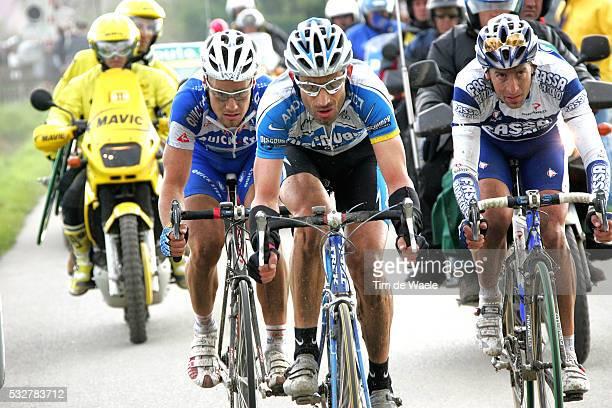 103 th UCI Pro Tour Paris Roubaix Tom Boonen George Hincapie and Juan Antonio Flecha