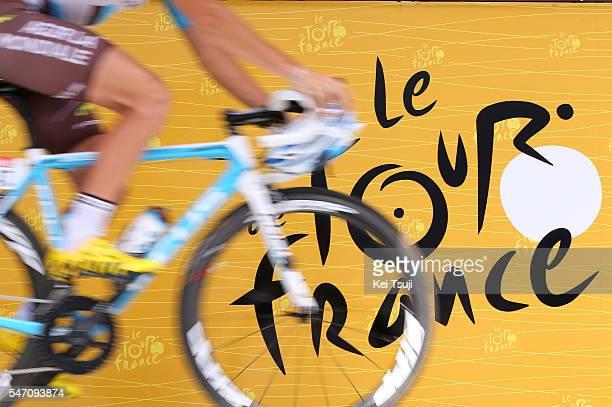 103th Tour de France 2016 / Stage 11 Illustration / Logo Tour de France / Team AG2R La Mondiale / Carcassone Montpellier / TDF /