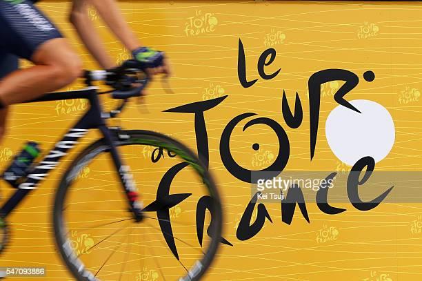103th Tour de France 2016 / Stage 11 Illustration / Logo Tour de France / Team Movistar / Carcassone Montpellier / TDF /