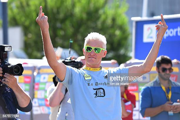 103th Tour de France 2016 / Stage 11 Podium / Oleg TINKOFF Team Owner Team Tinkoff Celebration / Carcassonne - Montpellier / TDF /