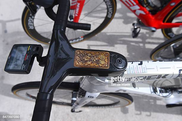 103th Tour de France 2016 / Stage 12 Illustration / Spartacus Trek Bike / Fabian CANCELLARA / Medallion / SRM Power Meter / Team Trek Segafredo /...