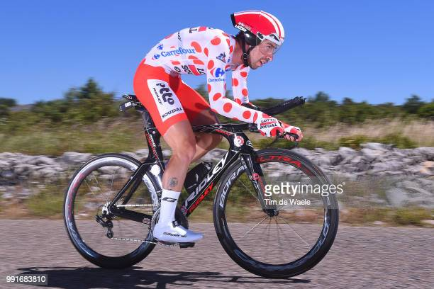 103Th Tour De France 2016 Stage 13Thomas De Gendt Polka Dot Mountain Jersey BourgSaintAndeol La Cueva De PontD'Arc / Time Trial Itt Tdf