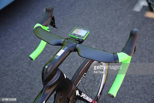 103th Tour de France 2016 / Stage 14 Illustration / Specialized Bike / Handle Bar / SRM Power Meter / Peter SAGAN Green Sprint Jersey / Team Tinkoff...