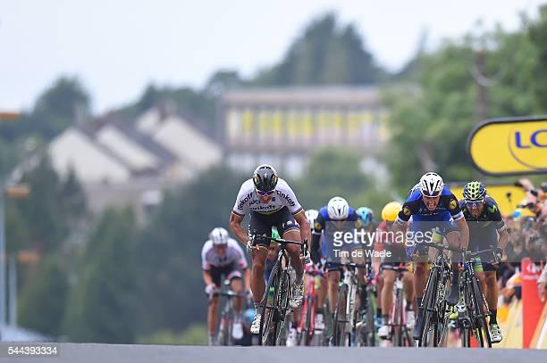 103th Tour de France 2016 / Stage 2 Arrival Sprint / Peter SAGAN / Julian ALAPHILIPPE / Alejandro VALVERDE / Daniel MARTIN / SaintLo...