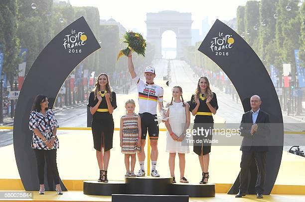 103th Tour de France 2016 / Stage 21 Podium / Andre GREIPEL / Sophia GREIPEL / Luna GREIPEL / daughters/ Children / Celebration / Chantilly Paris...