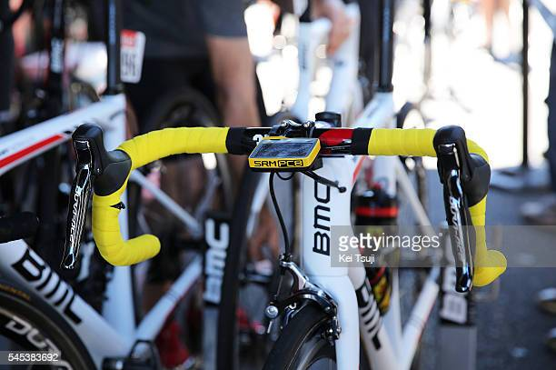 103th Tour de France 2016 / Stage 6 Bmc Bike / SRM Power Meter / Yellow / BMC Racing Team / Illustration / Greg VAN AVERMAET / ArpajonsurCere...
