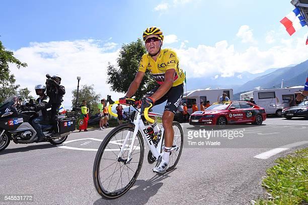 103th Tour de France 2016 / Stage 7 Greg VAN AVERMAET Yellow Leader Jersey / L'Isle-Jourdain - Lac de Payolle 1127m / TDF /