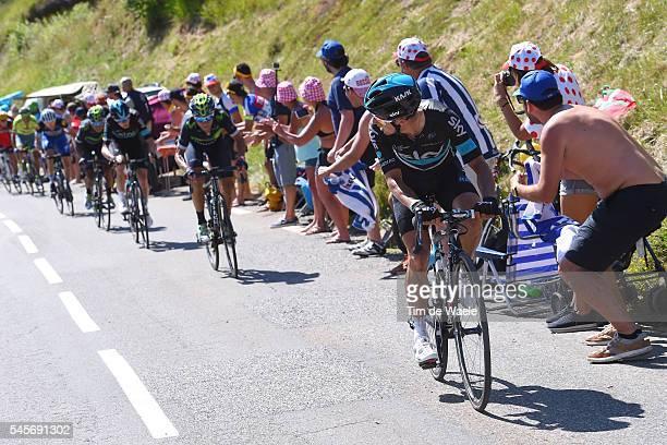 103th Tour de France 2016 / Stage 8 Sergio Luis HENAO / Alejandro VALVERDE / Christopher FROOME / Pau - Bagneres-de-Luchon / TDF /