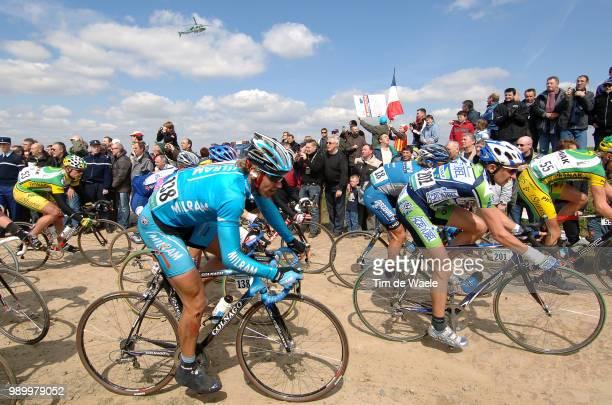 Paris - Roubaix, Pro Toursiedler Sebastian , Agnolutto Christophe Uci Pro Tour, Parijs