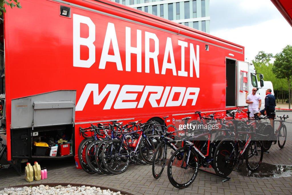 Cycling: 104th Tour de France 2017 / PC Bahrain Merida Pro Cycling Team : ニュース写真