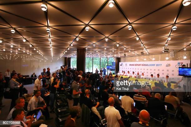 104th Tour de France 2017 / PC Team SKY Christopher FROOME / Sergio Luis HENAO / Luke ROWE / Mikel LANDA MEANA / Geraint THOMAS / Vasil KIRYIENKA /...