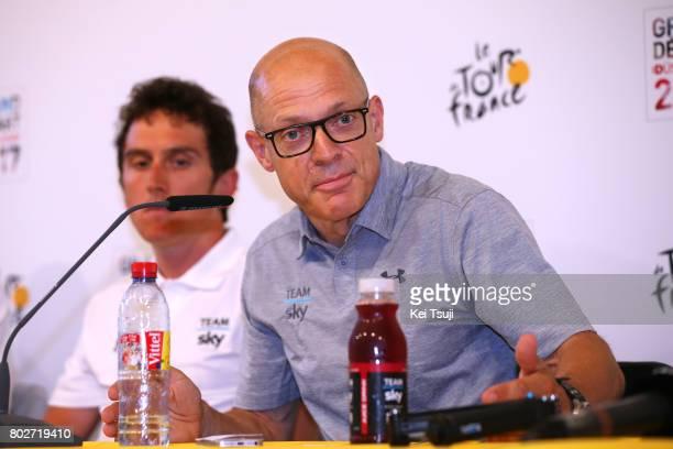 104th Tour de France 2017 / PC Team SKY Dave BRAILSFORD Team Manager Team SKY / Press Conference / Team SKY / TDF /