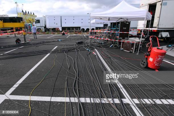 104th Tour de France 2017 / Stage 11 Zone Technic / Cables / Illustration / Eymet - Pau / TDF /