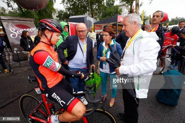 104th Tour de France 2017 / Stage 12 Nicolas ROCHE / Stephen ROCHE Father / Pau Peyragudes 1580m / TDF /