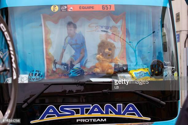 104th Tour de France 2017 / Stage 13 Bus / Astana Pro Team / Michele SCARPONI / Saint Girons Foix / TDF/
