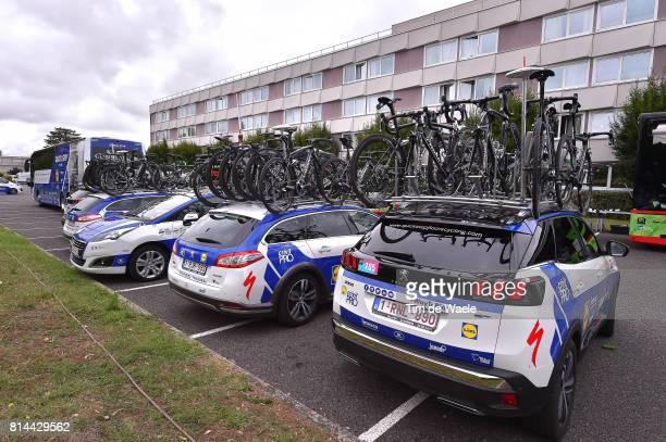 104th Tour de France 2017 / Stage 13 Start / Peugeot Car/ Bike / Team QuickStep Floors / Bike / Saint Girons Foix / TDF/