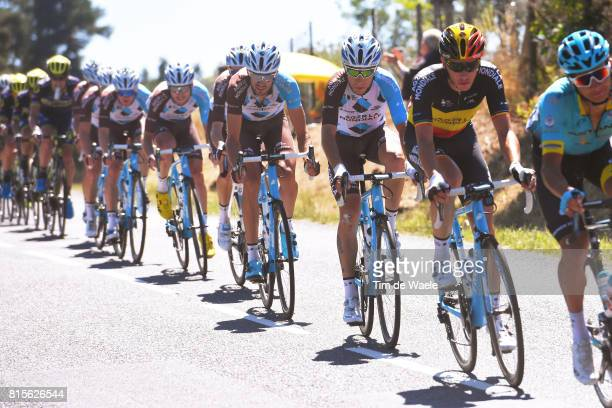 104th Tour de France 2017 / Stage 15 Oliver NAESEN / Axel DOMONT / Team AG2R La Mondiale / Laissac Severac l'Eglise - Le Puy en Velay / TDF/
