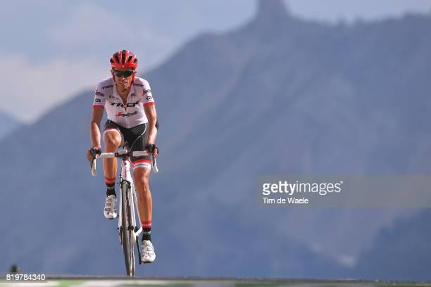 104th Tour de France 2017 / Stage 18 Arrival / Alberto CONTADOR / Briancon IzoardCol d'Izoard 2360m / TDF /