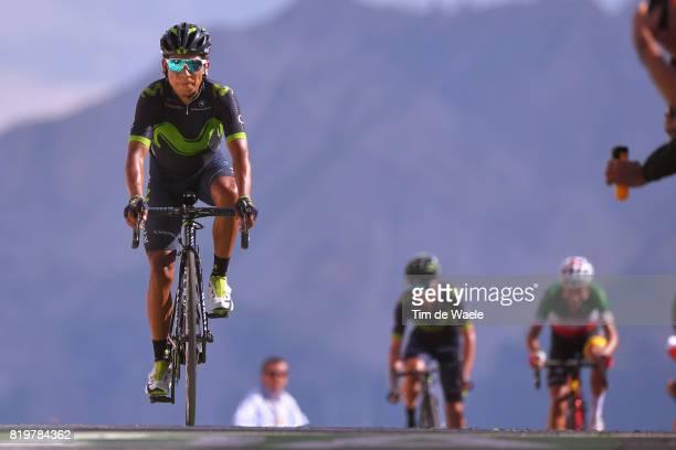 104th Tour de France 2017 / Stage 18 Arrival / Nairo QUINTANA / Briancon IzoardCol d'Izoard 2360m / TDF /
