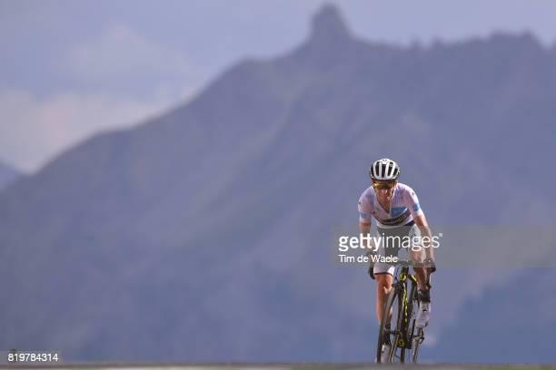 104th Tour de France 2017 / Stage 18 Arrival / Simon YATES White Best Young Rider Jersey / Briancon IzoardCol d'Izoard 2360m / TDF /