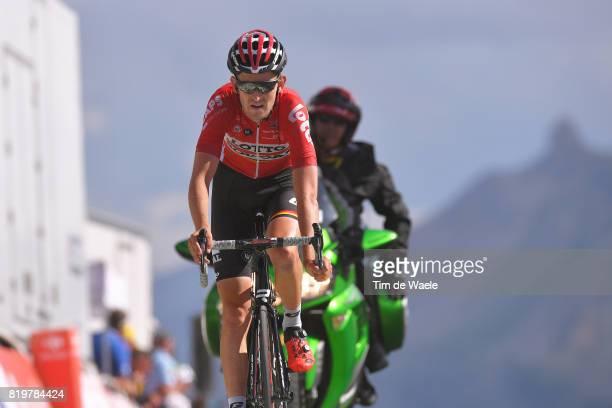 104th Tour de France 2017 / Stage 18 Arrival / Tiesj BENOOT / Briancon IzoardCol d'Izoard 2360m / TDF /
