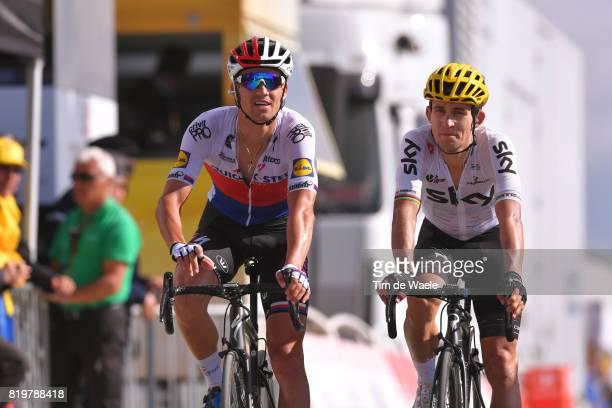 104th Tour de France 2017 / Stage 18 Arrival / Zdenek STYBAR / Michal KWIATKOWSKI / Briancon IzoardCol d'Izoard 2360m / TDF /